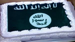 Isis flag cake made by Walmart after they refused to make a Confederate Flag cake