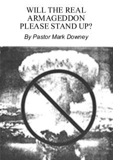 "Booklet cover ""Will the Real Armageddon Please Stand Up?"""
