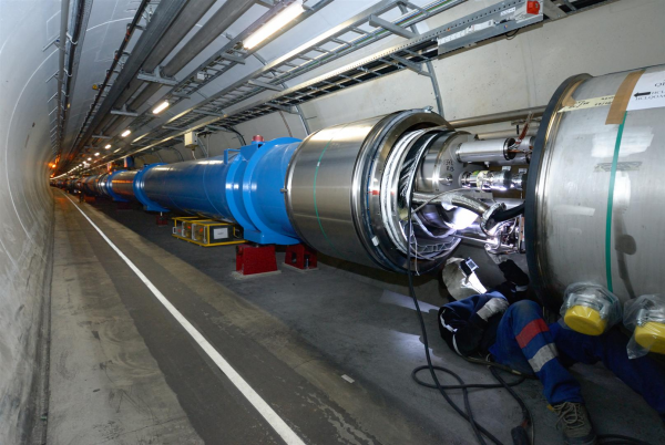 The CERN facility operates a network of six accelerators, one decelerator and the huge collider, with the goal of uncovering the existence of parallel universes, should they exist.