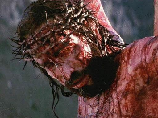 Jesus Christ was tortured and ripped to shreds