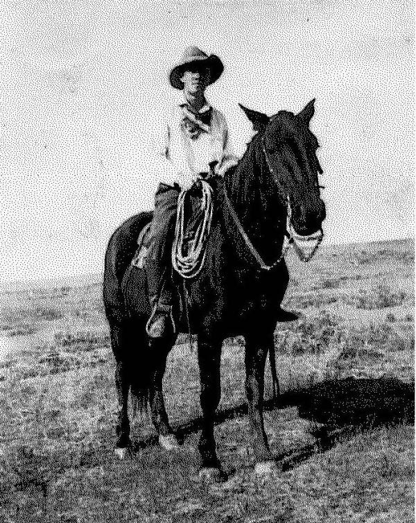 My Grandfather, a cowboy