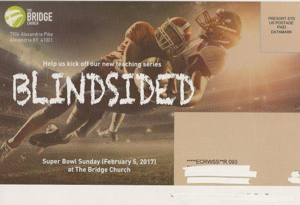 Promo Piece from The Bridge Church Superbowl 2017