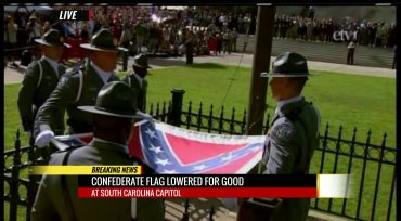 Half-breed female governor of South Carolina, Nikki Haley, signed a decree to take away the heritage of a people, ceremonially removed the South Carolina removes the Confederate battle flagConfederate battle flag from the state capitol. - See more at: http://kinsmanredeemer.com/image/south-carolina-removes-confederate-battle-flag#sthash.XS8UVCpy.dpuf