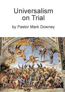 "Booklet cover ""Universalism on Trial"""