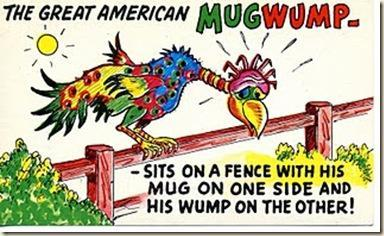 Mugwumps were Republicans who bolted from the party in 1884 (because of corruption) and got the Democrat, Grover Cleveland, elected.